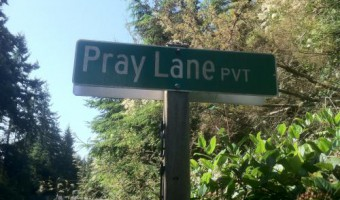 Pray Lane:  Giving Reverence to Possibility