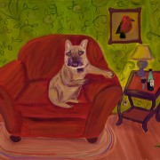 Wallace in Repose - Purchase this painting